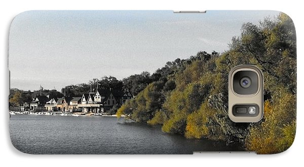 Galaxy Case featuring the photograph Boathouse II by Photographic Arts And Design Studio