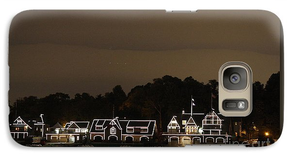 Galaxy Case featuring the photograph Boathouse Row by Christopher Woods
