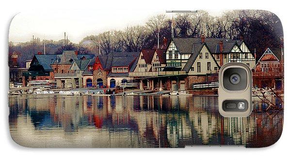 Philadelphia Galaxy S7 Case - Boathouse Row Philadelphia by Tom Gari Gallery-Three-Photography