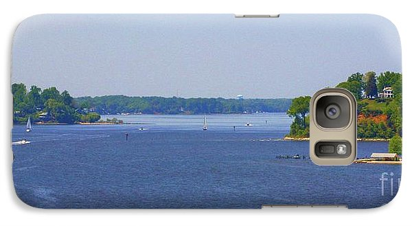 Galaxy Case featuring the photograph Boating On The Severn River by Patti Whitten