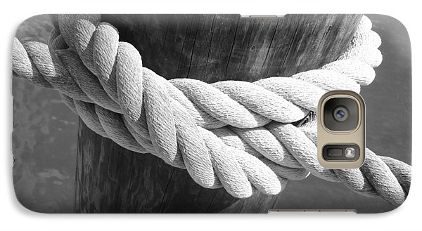 Galaxy Case featuring the photograph Boatman's Knot by Ellen Tully