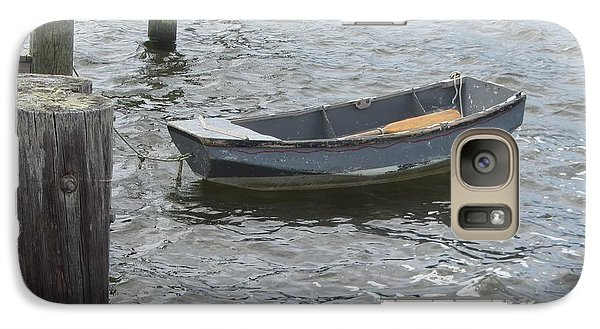 Galaxy Case featuring the photograph Boats And More Boats 3 by Cathy Lindsey