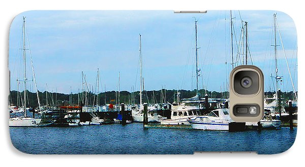Galaxy Case featuring the photograph Boats At Newport Ri by Susan Savad
