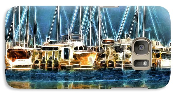 Galaxy Case featuring the photograph Boats by Clare VanderVeen