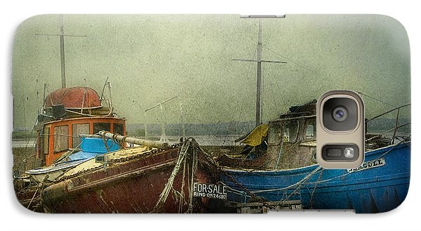 Galaxy Case featuring the photograph Boats For Sale by Brian Tarr