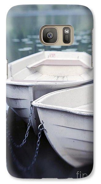 Boat Galaxy S7 Case - Boats by Priska Wettstein