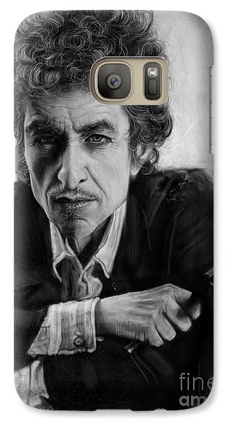 Bob Dylan Galaxy S7 Case by Andre Koekemoer