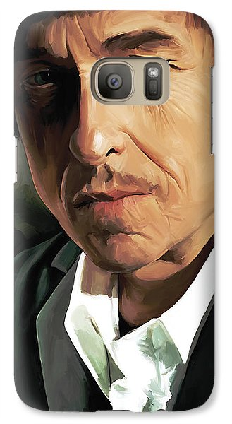 Bob Dylan Artwork Galaxy Case by Sheraz A
