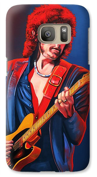 Bob Dylan Painting Galaxy S7 Case by Paul Meijering