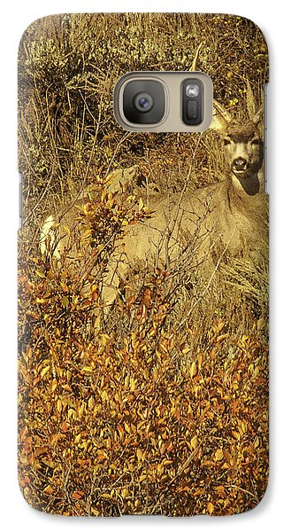 Galaxy Case featuring the photograph Bobby Buck by Daniel Hebard