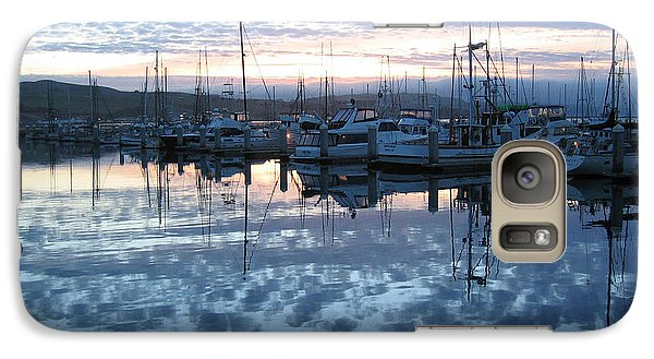 Galaxy Case featuring the drawing Bodega Bay Sunrise by Dianne Levy