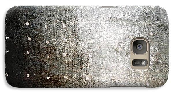 Galaxy Case featuring the painting Bodhisattva Sanskrit by Fereshteh Stoecklein