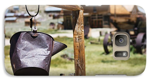 Galaxy Case featuring the photograph Bodie Ghost Town 2 - Old West by Shane Kelly