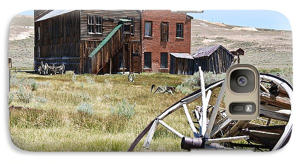 Galaxy Case featuring the photograph Bodie Ghost Town 3 - Old West by Shane Kelly