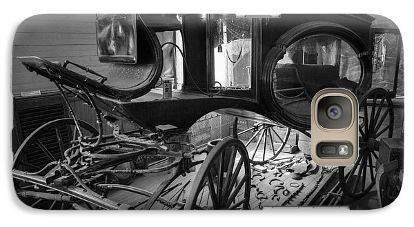 Galaxy Case featuring the photograph Bodie Hearse by Jim Snyder
