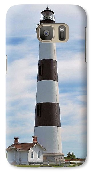 Galaxy Case featuring the photograph Bodie Lighthouse by Bob Sample