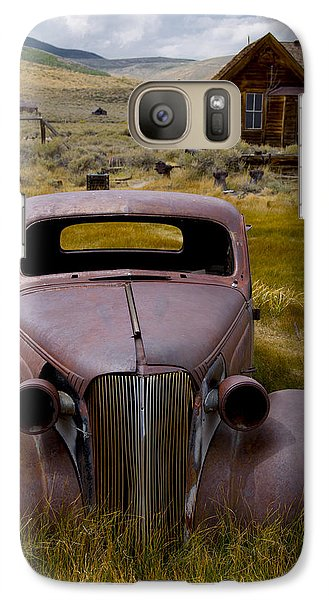 Galaxy Case featuring the photograph Bodie Rest Stop by Jim Snyder