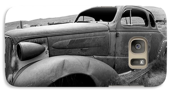 Galaxy Case featuring the photograph Bodie Yard Art by Jim Snyder