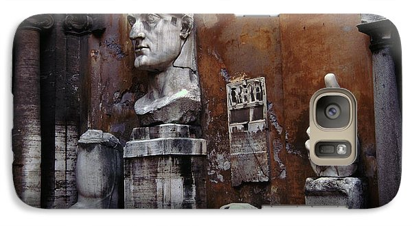Galaxy Case featuring the photograph Body Parts The Colossus Of Constantine Rome by Tom Wurl