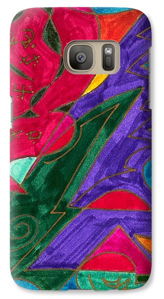 Galaxy Case featuring the mixed media Body Zero # 5 by Clarity Artists