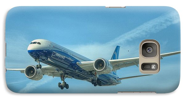 Galaxy Case featuring the photograph Boeing 787-9 by Jeff Cook
