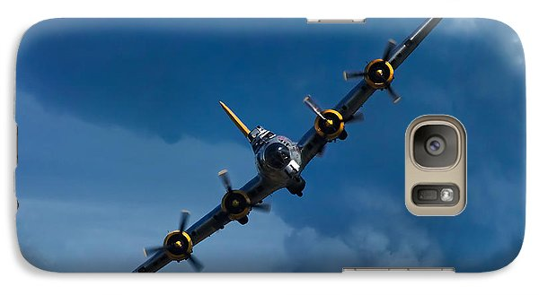 Airplanes Galaxy S7 Case - Boeing B-17 Flying Fortress by Adam Romanowicz