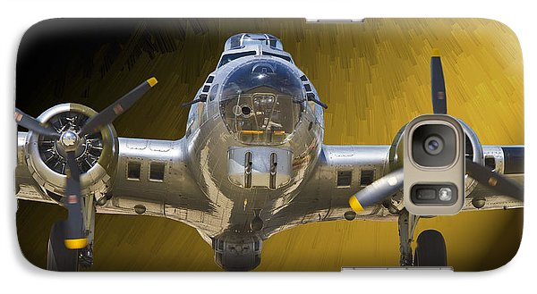 Galaxy Case featuring the photograph Boeing B17 by John Hix