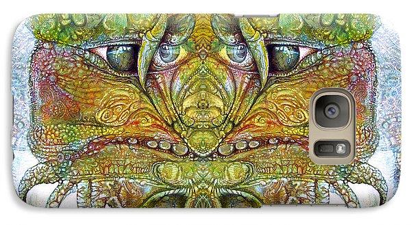 Galaxy Case featuring the digital art Bogomil Variation 11 by Otto Rapp