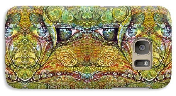 Galaxy Case featuring the digital art Bogomil Variation 12 by Otto Rapp