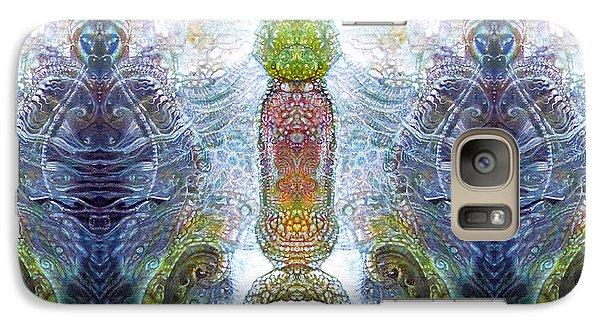 Galaxy Case featuring the digital art Bogomil Variation 13 by Otto Rapp