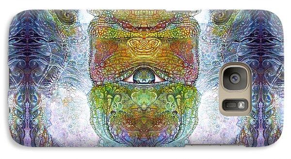 Galaxy Case featuring the digital art Bogomil Variation 15 by Otto Rapp