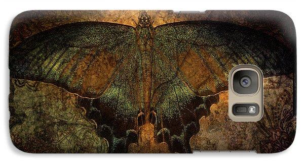 Galaxy Case featuring the digital art Bohemia Butterfly - Art Nouveau by Absinthe Art By Michelle LeAnn Scott