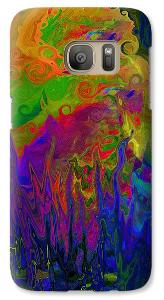Galaxy Case featuring the digital art Boiling Pot by Constance Krejci