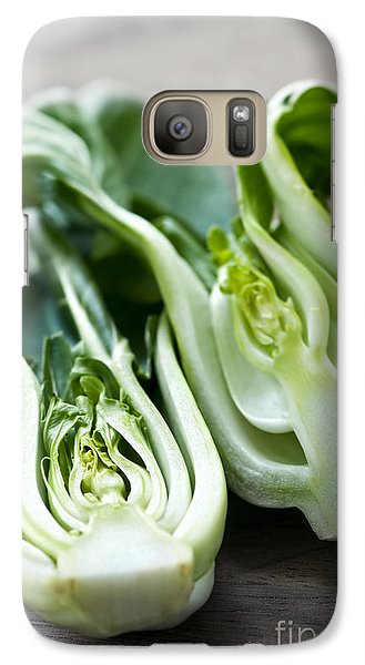 Bok Choy Galaxy Case by Elena Elisseeva