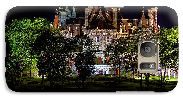 Galaxy Case featuring the photograph Boldt Castle On Heart Island by Don Nieman
