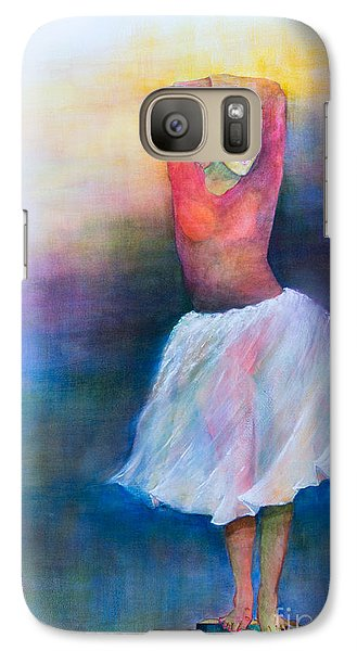 Galaxy Case featuring the painting Bolero by Sherry Davis