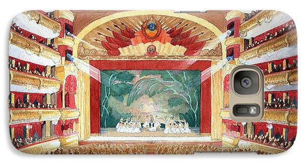 Galaxy Case featuring the painting Bolshoi Ballet by Lora Serra