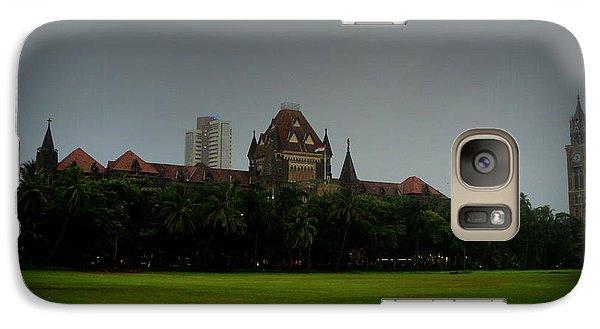 Galaxy Case featuring the photograph Bombay High Court by Salman Ravish