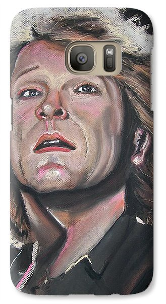 Galaxy Case featuring the pastel Bon Jovi by Peter Suhocke