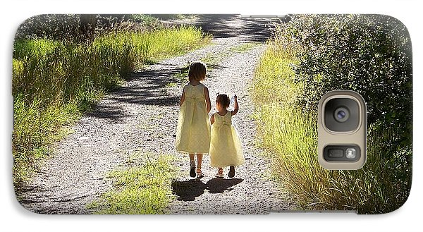 Galaxy Case featuring the photograph Bond Between Sisters by Sheri Keith
