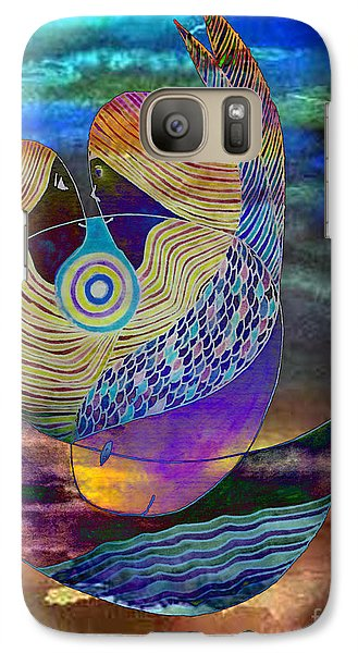 Galaxy Case featuring the painting Bonded In Harmony by Mukta Gupta
