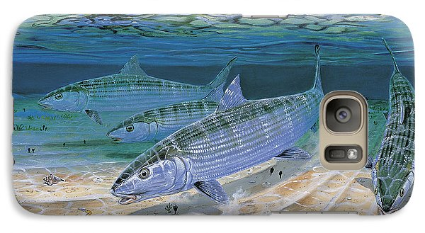 Bonefish Flats In002 Galaxy S7 Case by Carey Chen
