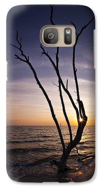 Galaxy Case featuring the photograph Bonita Beach Tree by Bradley R Youngberg