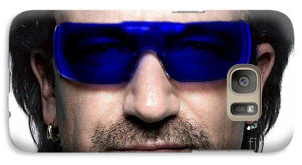 Bono Of U2 Galaxy Case by Marvin Blaine