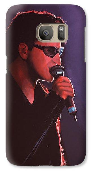 Bono U2 Galaxy S7 Case by Paul Meijering