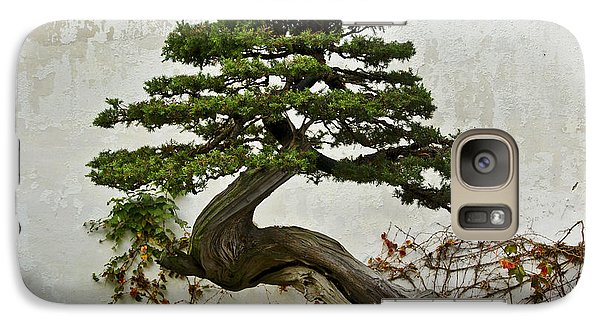 Galaxy Case featuring the photograph Bonsai Suzhou China by Sally Ross