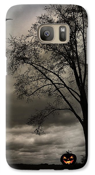Galaxy Case featuring the photograph Boo by Cynthia Lassiter