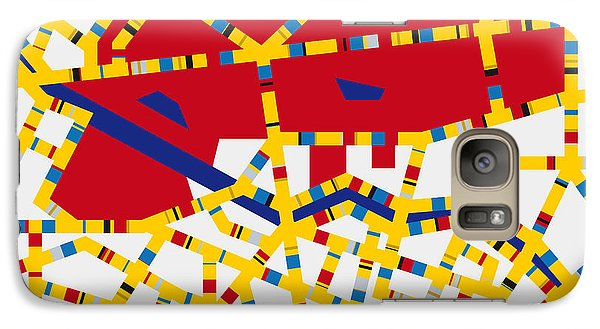 Mo Galaxy S7 Case - Boogie Woogie Berlin by Chungkong Art