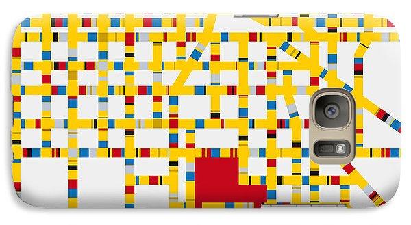 Mo Galaxy S7 Case - Boogie Woogie Las Vegas by Chungkong Art