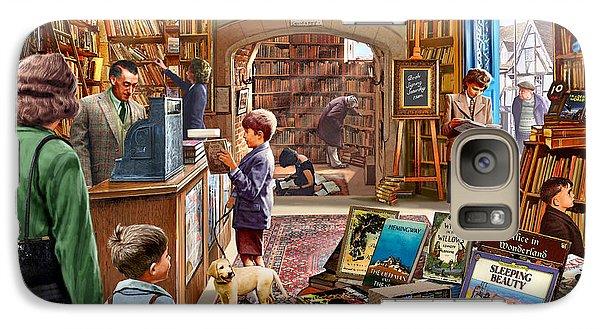 Bookshop Galaxy Case by Steve Crisp
